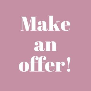Other - 💕Make Me an Offer💕